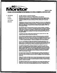 Monitor Newsletter March 15, 2004