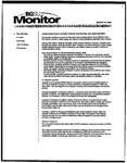 Monitor Newsletter March 22, 2004
