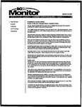 Monitor Newsletter March 29, 2004