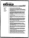 Monitor Newsletter April 05, 2004