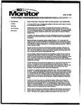 Monitor Newsletter April 19, 2004