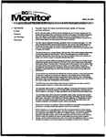 Monitor Newsletter April 26, 2004