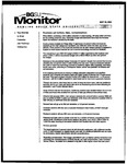 Monitor Newsletter May 10, 2004