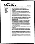 Monitor Newsletter May 17, 2004