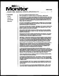 Monitor Newsletter June 28, 2004