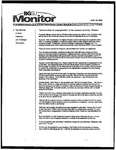 Monitor Newsletter August 23, 2004
