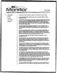 Monitor Newsletter October 18, 2004