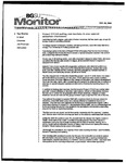 Monitor Newsletter October 25, 2004