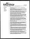 Monitor Newsletter November 08, 2004