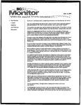 Monitor Newsletter November 15, 2004