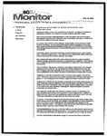 Monitor Newsletter November 22, 2004