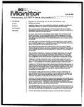 Monitor Newsletter November 22, 2004