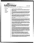 Monitor Newsletter December 13, 2004