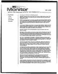Monitor Newsletter December 13, 2004