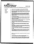 Monitor Newsletter January 10, 2005