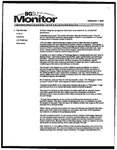 Monitor Newsletter February 07, 2005