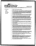 Monitor Newsletter February 28, 2005
