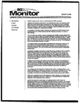 Monitor Newsletter March 14, 2005