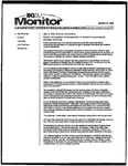 Monitor Newsletter March 21, 2005