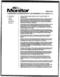 Monitor Newsletter March 28, 2005