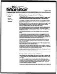 Monitor Newsletter April 25, 2005