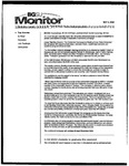 Monitor Newsletter May 02, 2005