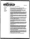 Monitor Newsletter May 31, 2005