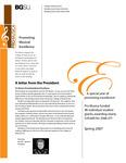 ProMusica Newsletter, Spring 2007