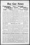 Bee Gee News January 29, 1936