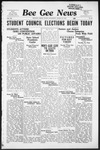 Bee Gee News March 25, 1936