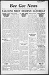 Bee Gee News September 23, 1936