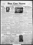 Bee Gee News January 8, 1941
