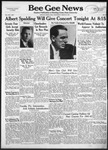 Bee Gee News March 12, 1941