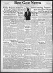Bee Gee News April 9, 1941