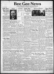 Bee Gee News May 28, 1941