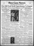 Bee Gee News September 17, 1941