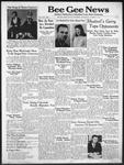 Bee Gee News October 15, 1941
